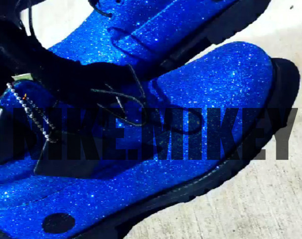 7be6c1a4d6d shoes timberlands glitter blue custom timberlands