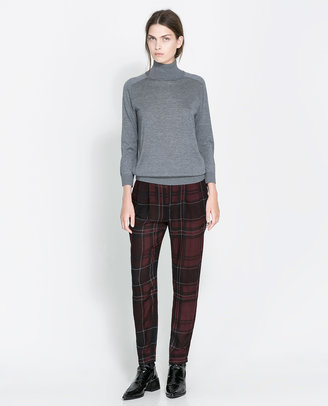 Zara Silk And Cotton Sweater - ShopStyle