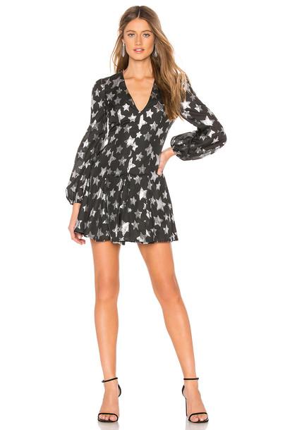 Lovers + Friends Delphine Mini Dress in black