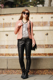 velvet venue,jacket,bag,jewels,t-shirt,pants,sunglasses