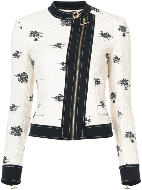 DEREK LAM 10 CROSBY jacket women white cotton
