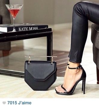 shoes black heels heel kate moss absolut love