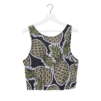tank top black tank top graphic tank top pineapple print pineapple pineapple shirt colorful pineapple white tshirtrt swag swag top swagg t shirt black top cool cool girl style fashion coolture fashion toast girly wishlist dope wishlist grunge wishlist hipster wishlist wish wish wish