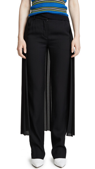 skirt pleated skirt pleated black