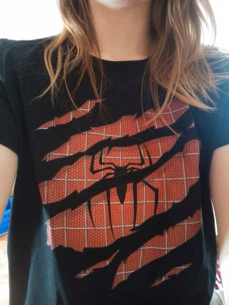 t-shirt spiderman spidey superheroes