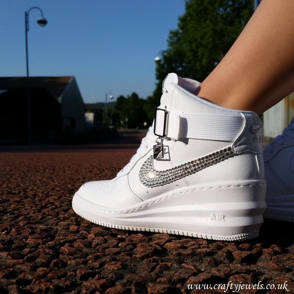 shoes, wedge trainers, nike, style, fashion, nike lunar ...