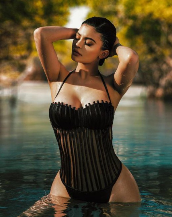 Swimwear One Piece Swimsuit Kylie Jenner Kardashians