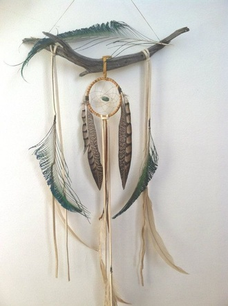 home accessory dreamcatcher feather