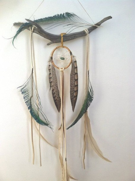 home accessory dreamcatcher feathers