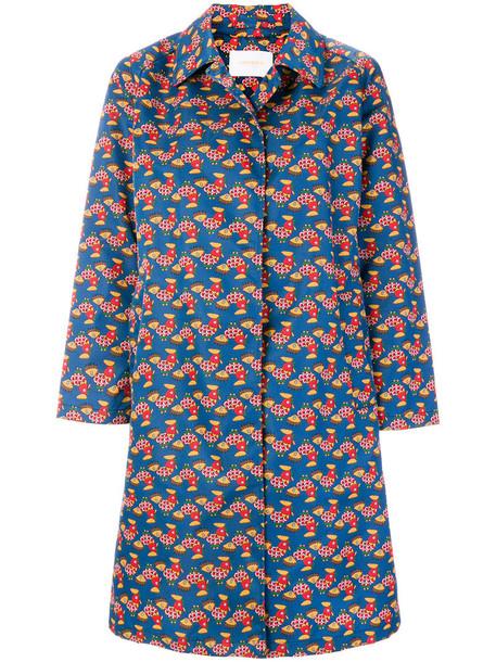 La DoubleJ coat women print
