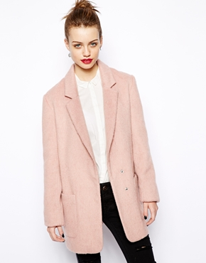 New Look | New Look Boyfriend Coat at ASOS
