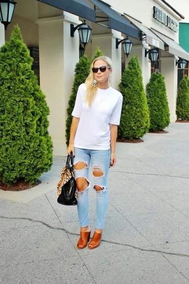 bag sunglasses jewels top blogger jeans b soup