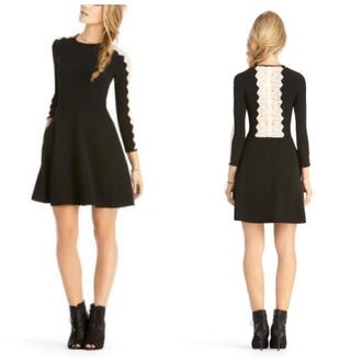 dress black dress lace dress pretty little liars lace