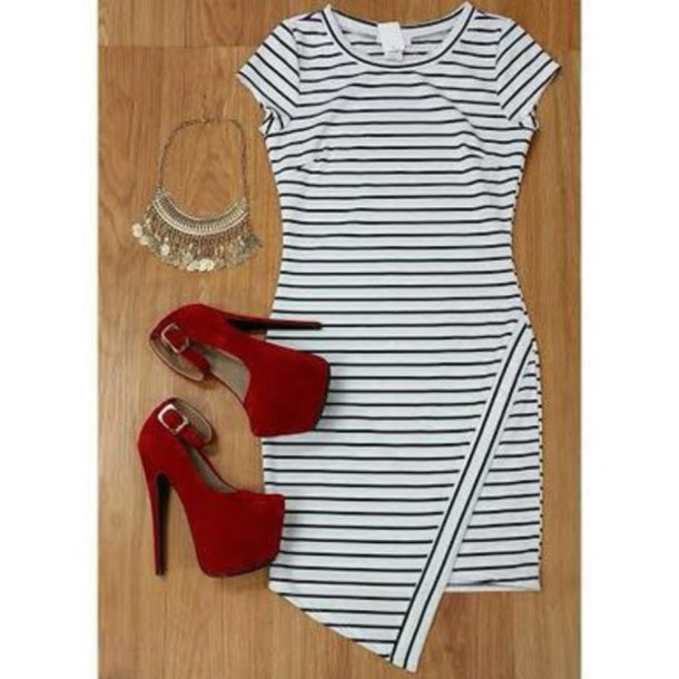 dress mariner dress redheels