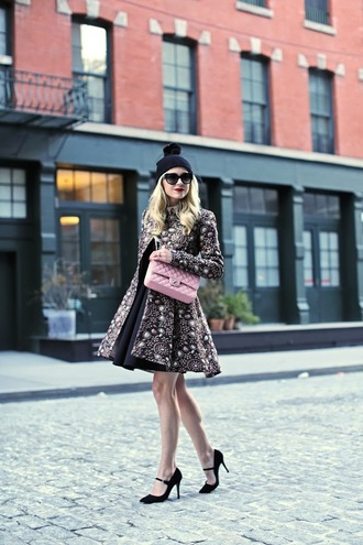 atlantic pacific blogger jacket skirt shoes hat sunglasses dress sweater