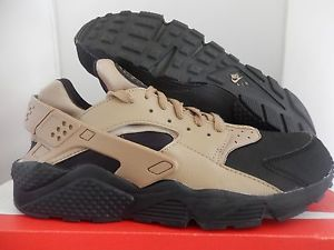 brand new 8d9e5 49d2e nike air huarache run prm premium black-desert camo brown sz