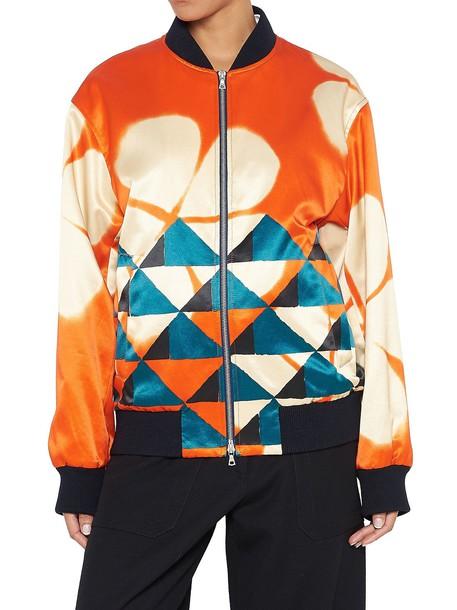 dries van noten jacket multicolor