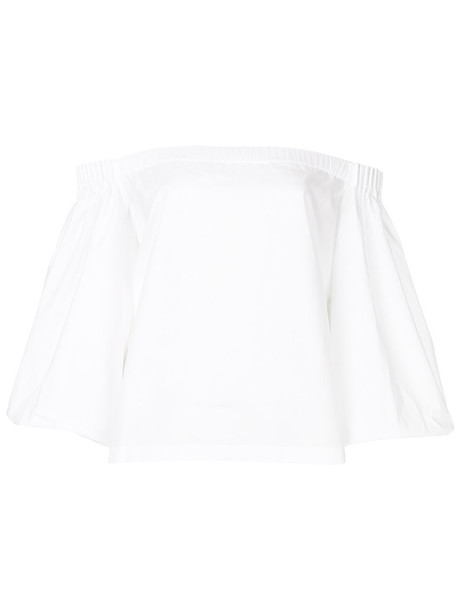 Gabriela Hearst top women white cotton
