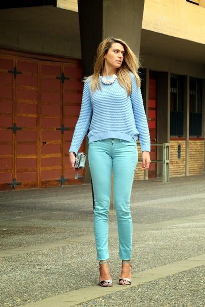 tu nuevo look sweater pants bag jewels t-shirt shoes