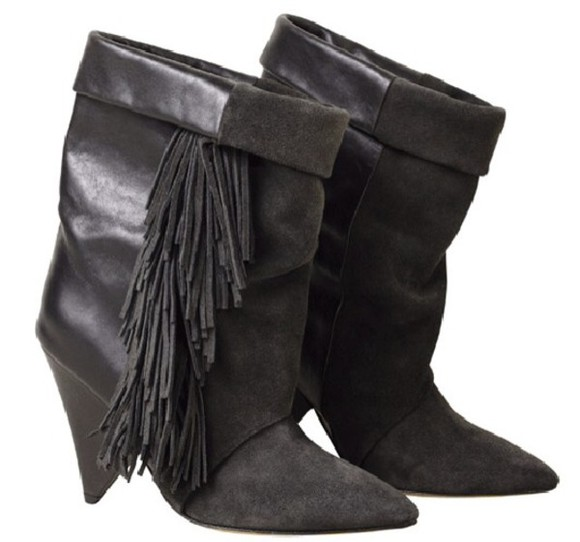 isabel marant shoes ankle boots h&m isabel marant pour h&m boots isabel marant boots high heel shoes black high heels winter boots shoes, boots, leather, winter, heels, high heels,