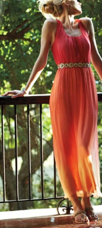 dress maxi dress belt waist belt