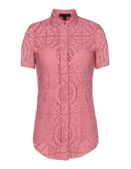 Burberry Prorsum Short Sleeve Shirt - Burberry Prorsum Shirts Women - thecorner.com