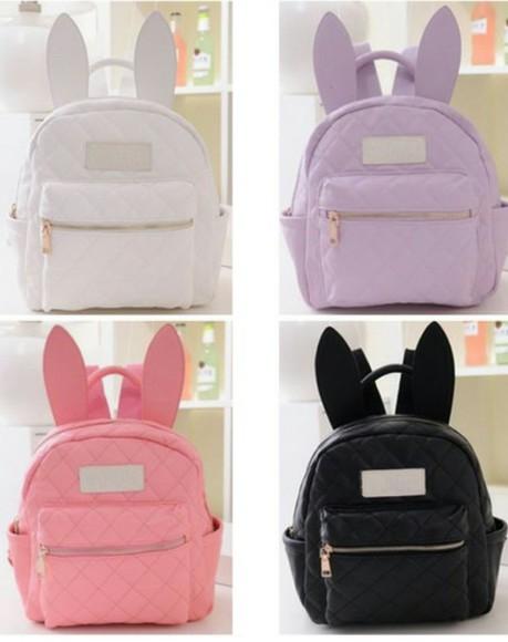 bag backpack bunny