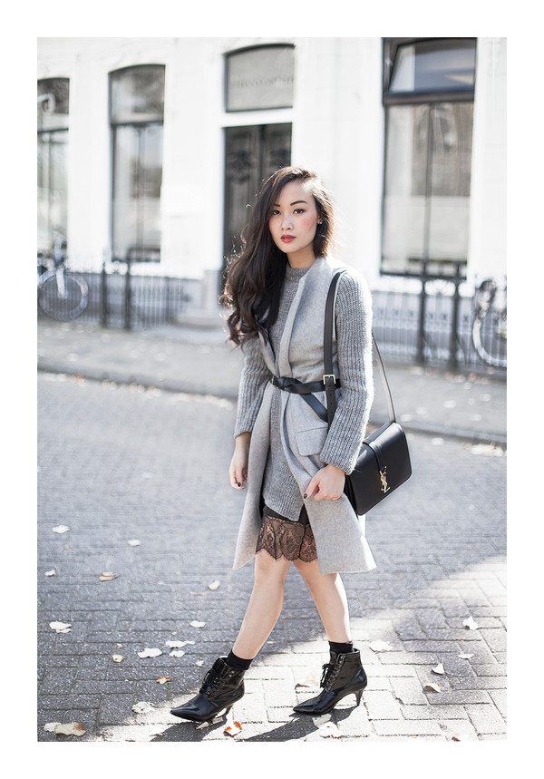 tlnique blogger jacket bag shoes sweater