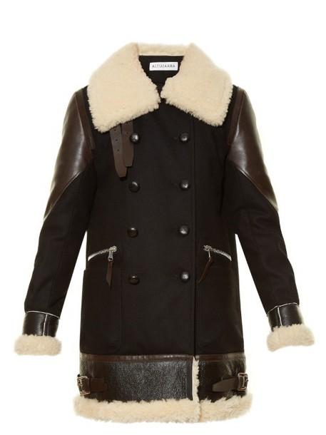 Altuzarra coat wool black