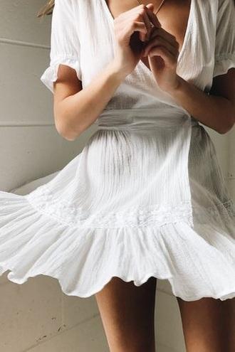 dress white mini dress boho dress summer dress summer outfits summer cute dress fashion white dress mini dress