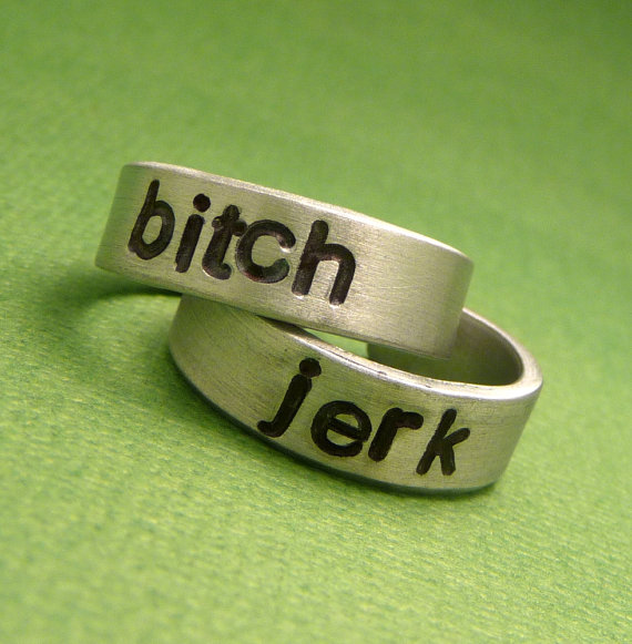 Supernatural Inspired  Bitch & Jerk  A Pair by chasingatstarlight