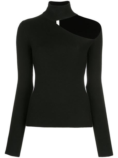 sweater women cotton black