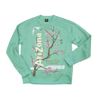 sweater arizona tea cherry blossom