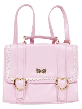 pink bag cute bag pick backpack bookbag