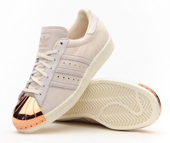 adidas 80s metal toe rose gold