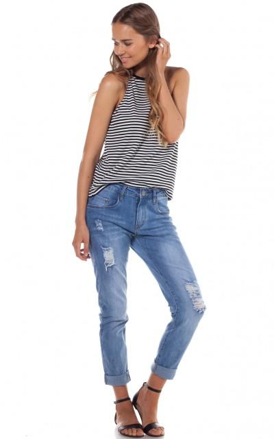 Twerk jeans in blue