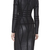 Black Luxury Noble PU Zipper Long Sleeve Bandage Dress H706(pre-order)$139
