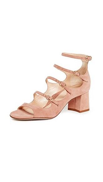 sandals blush shoes