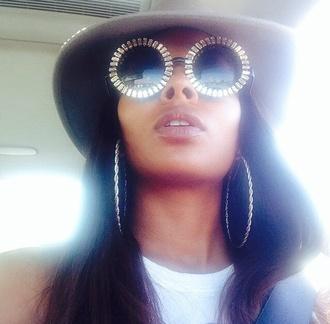 sunglasses silver sunglasses faahion eyeglasses frames eyewear