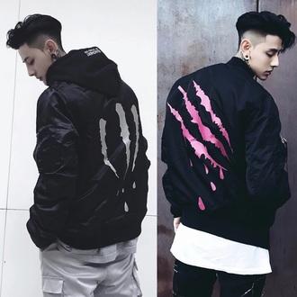 jacket korean fashion kstyle kpop k-pop ulzzang menswear swag tumblr k-style ulzzang boy