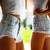 Dangers Pale Frayed Studded Shorts | RUNWAYDREAMZ