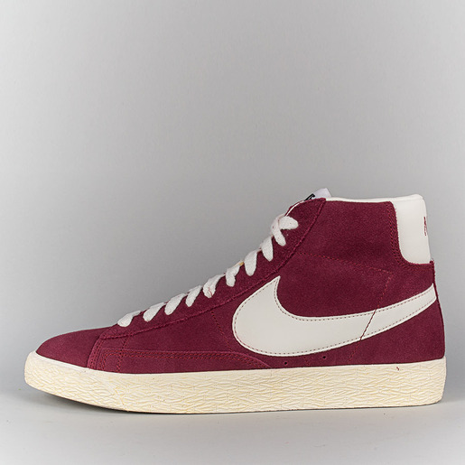 1cb0276d23a5f2 Nike Blazer Mid Prm Vtg Suede Shoes - Team Red Sail at Arkive ...