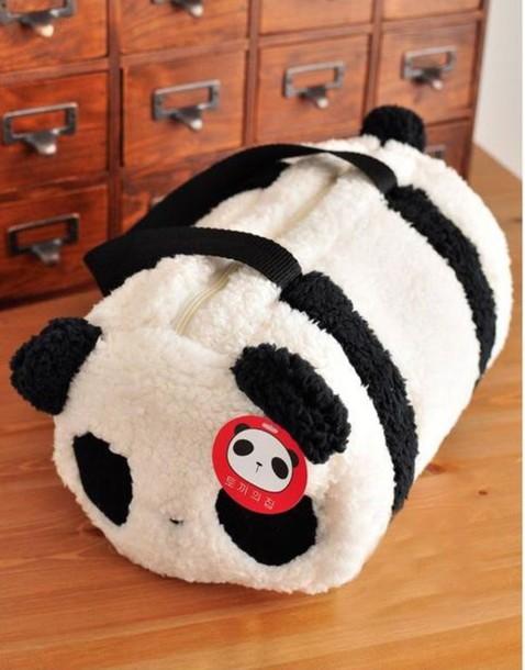 bag kawaii travel bag panda kawaii bag