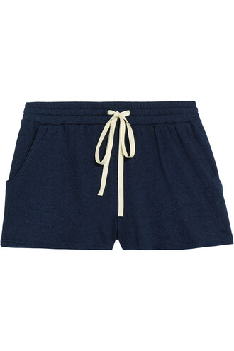 shorts pajama shorts blue