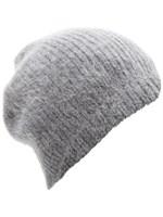 Acne - Kit angora hat - gråmeleret - YouHeShe.com