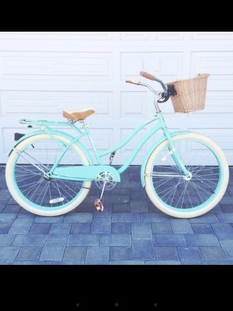 home accessory bike hipster turquoise