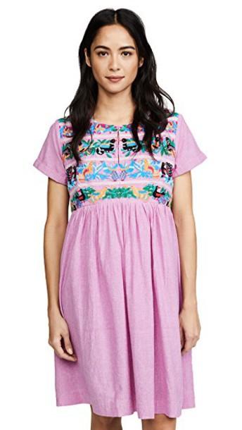 Roberta Roller Rabbit dress embellished dress embellished
