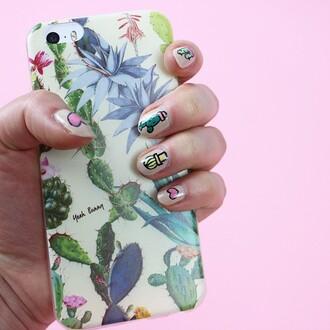 phone cover yeah bunny cactus iphone succulent
