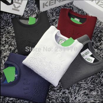 4711f5d3 5Color Brand New Hoodies Tracksuits Kenz Sweatshirt Woman/men Moleton  Feminine Solid Winter Clothes Harajuku Sportwear ...