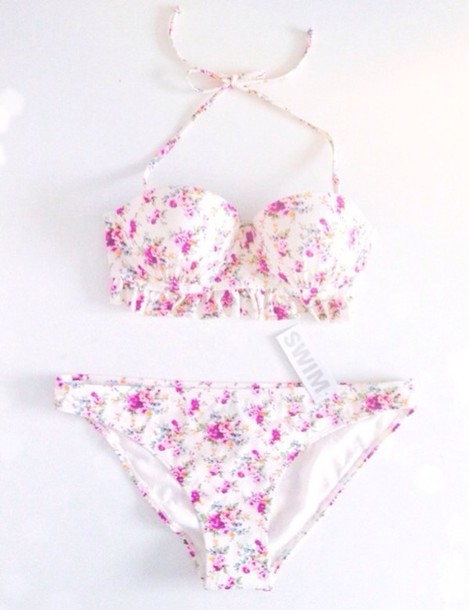 Swimwear floral swimwear white swimwear bikini bikini bottoms swimwear floral swimwear white swimwear bikini bikini bottoms bikini top floral cute purple roses pink roses swimmers halter bikini flowers mightylinksfo